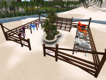 :::IDJ::: Deluxe Large Corral with Bundle Stand & Garden
