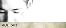 AUDRAN Unisex Face Facial Tattoo 'Teardrops'