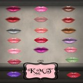 .:::K,M,T:::.Skin Makeup Creators Lips High Gloss Set Of 33