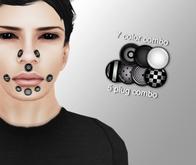 Cobrahive - Face plugs - gauges [mono]