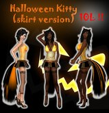 ::Kitteh Bitz:: Halloween Kitty Skirt outfit