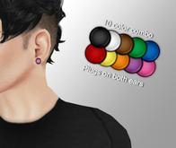 Cobrahive - Plug earrings - gauges [color]