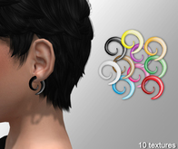 Cobrahive - Ear Swirls Piercing