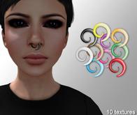 "Cobrahive - Nose Piercing ""Swirl"""