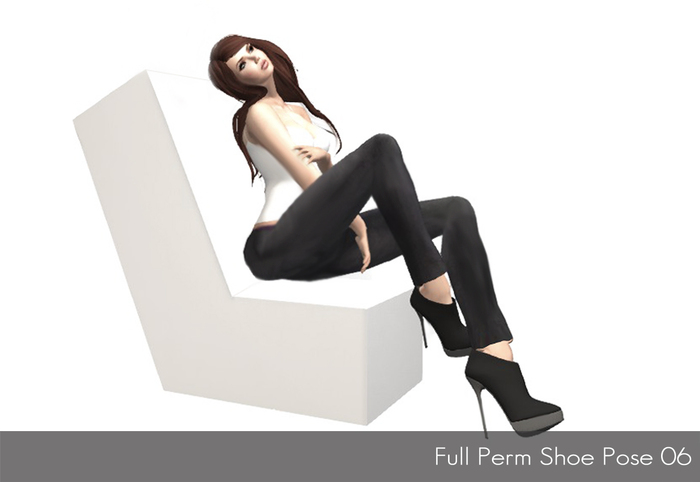 Full Perm Shoe Pose 06 - Modeling Poses, Photoghraphy Poses