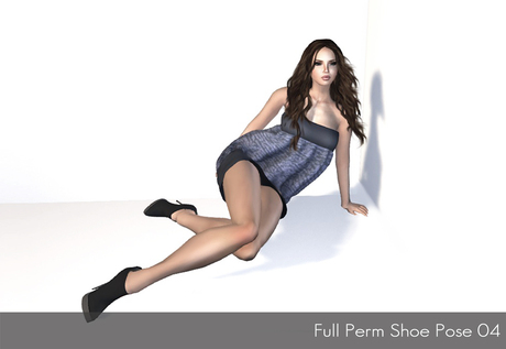 Full Perm Shoe Pose 04 - Modeling Poses, Photoghraphy Poses