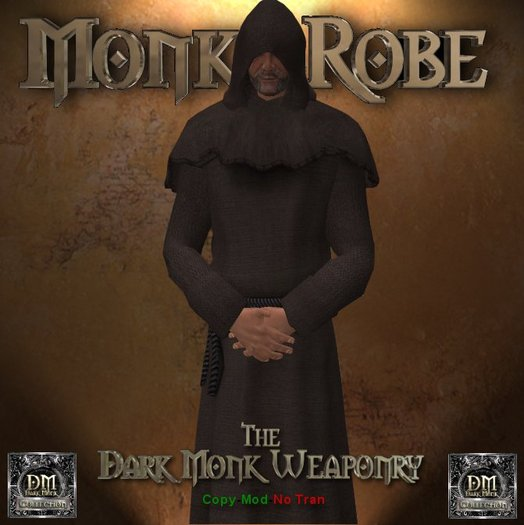 DMW Mesh Monks Robe V2 - Brown