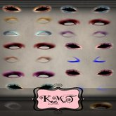 .:::K,M,T:::.Skin Makeup Creators Eyeshadow Glamour Set Of 40