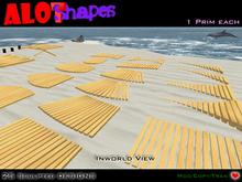 25 Deck Sculpted Shapes / Fullperm