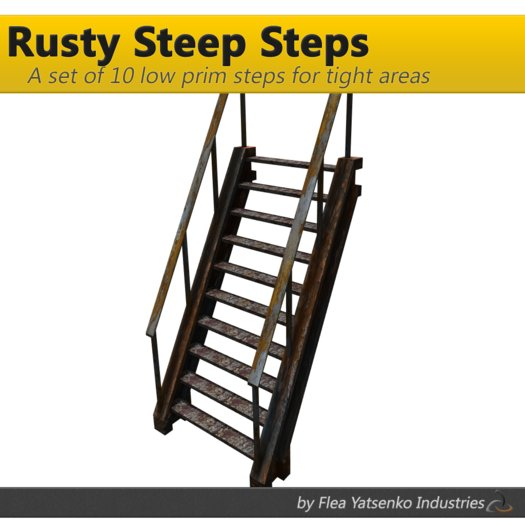 [FYI] Rusty Steep Steps (10 steps)
