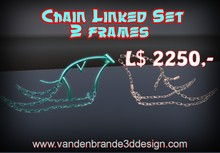 PRICE LOWERED! chainlinked frame and fully linked frame FULL PERM FOR BUILDERS