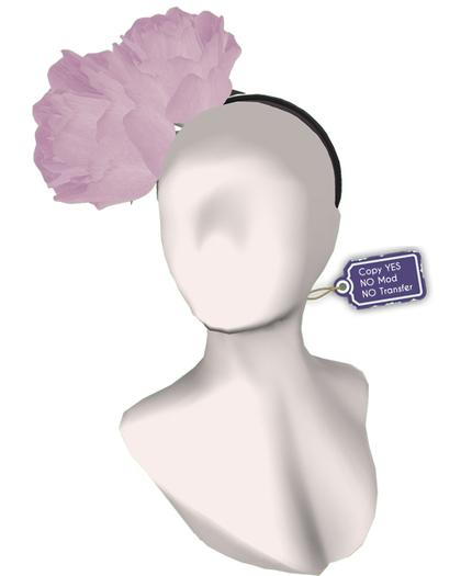 [ glow ] studio - Pink roses hairband (boxed)