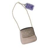 [ glow ] studio - Bambi beige fur satchel (boxed)