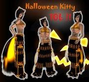 ::Kitteh Bitz:: Halloween Kitty Pants Outfit