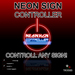 Neon sign controller. Turn ANY neon or prim on off blink etc. neons change adjust control blink