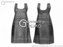 <Geometry DEMO> Chandira ( rigged mesh in standard sizing )