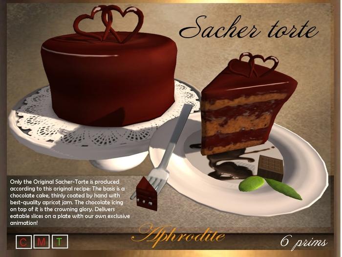 Aphrodite Sachertorte- Special Austrian Chocolate cake