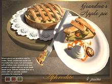 Aphrodite Grandmas apple pie- Heavenly warm apple pie