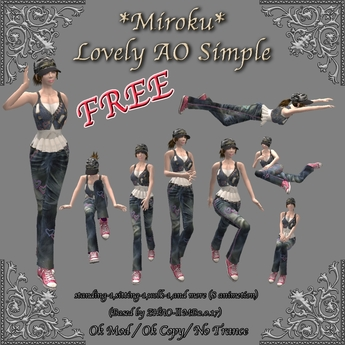 *Miroku*Lovely AO V.1.0 Simple =FREE=