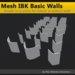 [FYI] Mesh IBK Basic Walls (copy/mod)