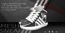 :: db :: MESH Sneakers A1.0 col 20 Detailed Texture 2 Versions