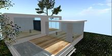 Designer Prims Sunny Side Villa, house, prefab