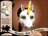 Unicorn Mask (White)