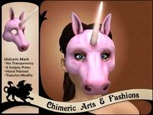 Unicorn Mask (Pink)