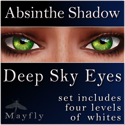 Mayfly - Deep Sky Eyes (Absinthe Shadow)