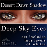 Mayfly - Deep Sky Eyes (Desert Dawn Shadow)