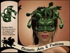 Gorgon / Medusa Mask (Green)