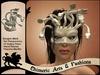 Gorgon / Medusa Mask (Cream)