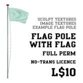 Sculpted Flag (Full Perm)