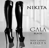 NIKITA :: GALA boots black