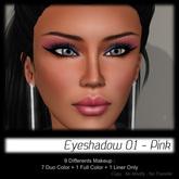 - MPP Makeup - Eyeshadow 01 - Pink