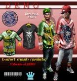 DEMO .::[BuFu]::. MESH T-shirt Realistic / QUALITY PRODUCT