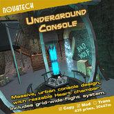 TARDIS Console Room, Underground