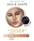 "(the body co) SKIN+SHAPE ""Tiger"" (03 Tone/Black Hair) Male"
