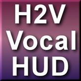 H2V Hand Held Micropone Singer Animation HUD