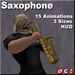 Saxophone.  HUD controlled.  Animations