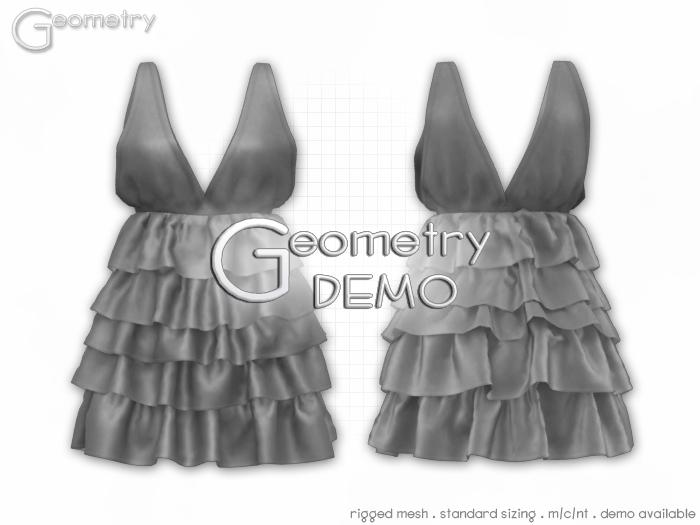 <Geometry DEMO> Sophia( rigged mesh in standard sizing )