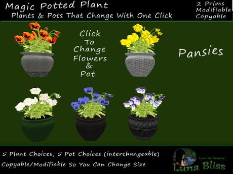 Second Life Marketplace Autumn Landscaping Magic Plants