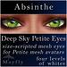 Mayfly - Deep Sky Petite Eyes (Absinthe)