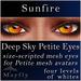 Mayfly - Deep Sky Petite Eyes (Sunfire)