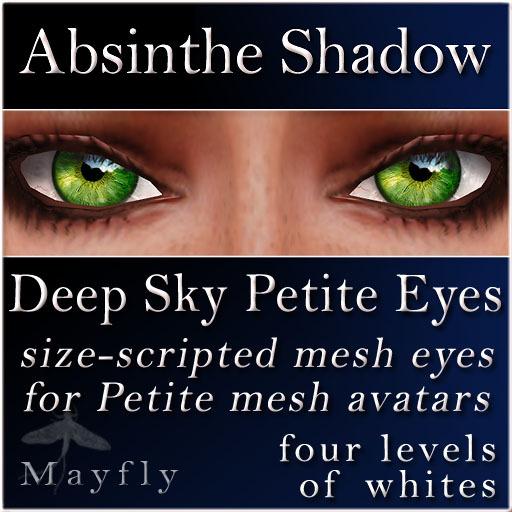 Mayfly - Deep Sky Petite Eyes (Absinthe Shadow)
