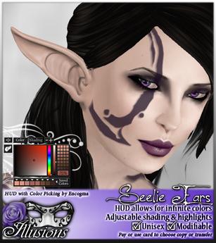 *~*Illusions*~* Seelie Elf Ears