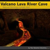 [FYI] Volcano Lava River Cave With Crystals and External Volcano