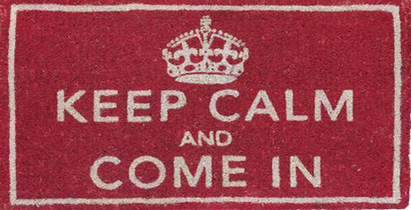 Keep Calm and Come In Door Mat *** Doormat