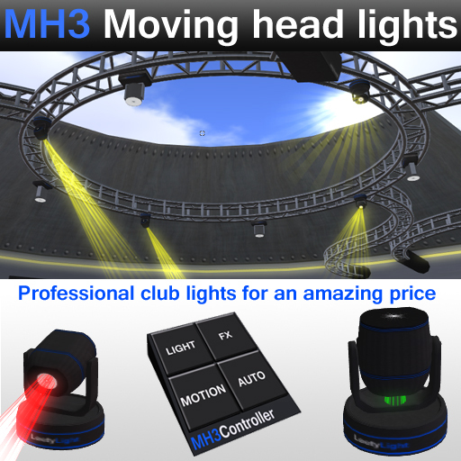MH3 Moving Head Lights
