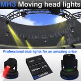 MH3 Moving Head Lights
